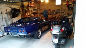 Ma Corvette dans le garage
